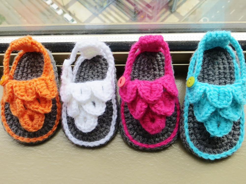 Crochet Baby Sandals Pattern Best Of Crochet Dreamz Crocodile St Baby Sandals or Booties Of Perfect 43 Photos Crochet Baby Sandals Pattern