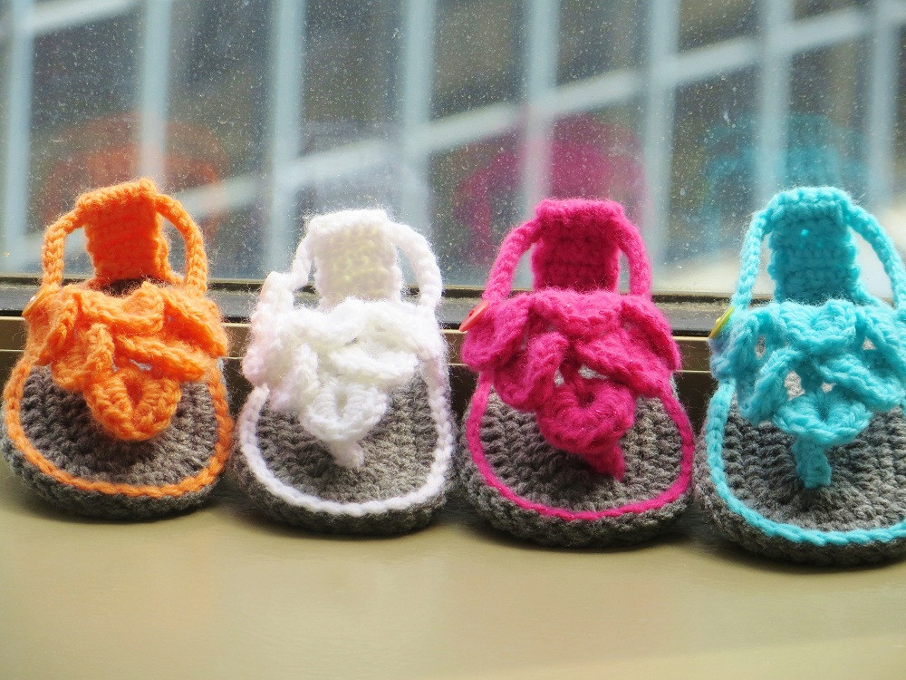 Crochet Baby Sandals Pattern Luxury Crochet Dreamz Crocodile St Baby Sandals or Booties Of Perfect 43 Photos Crochet Baby Sandals Pattern