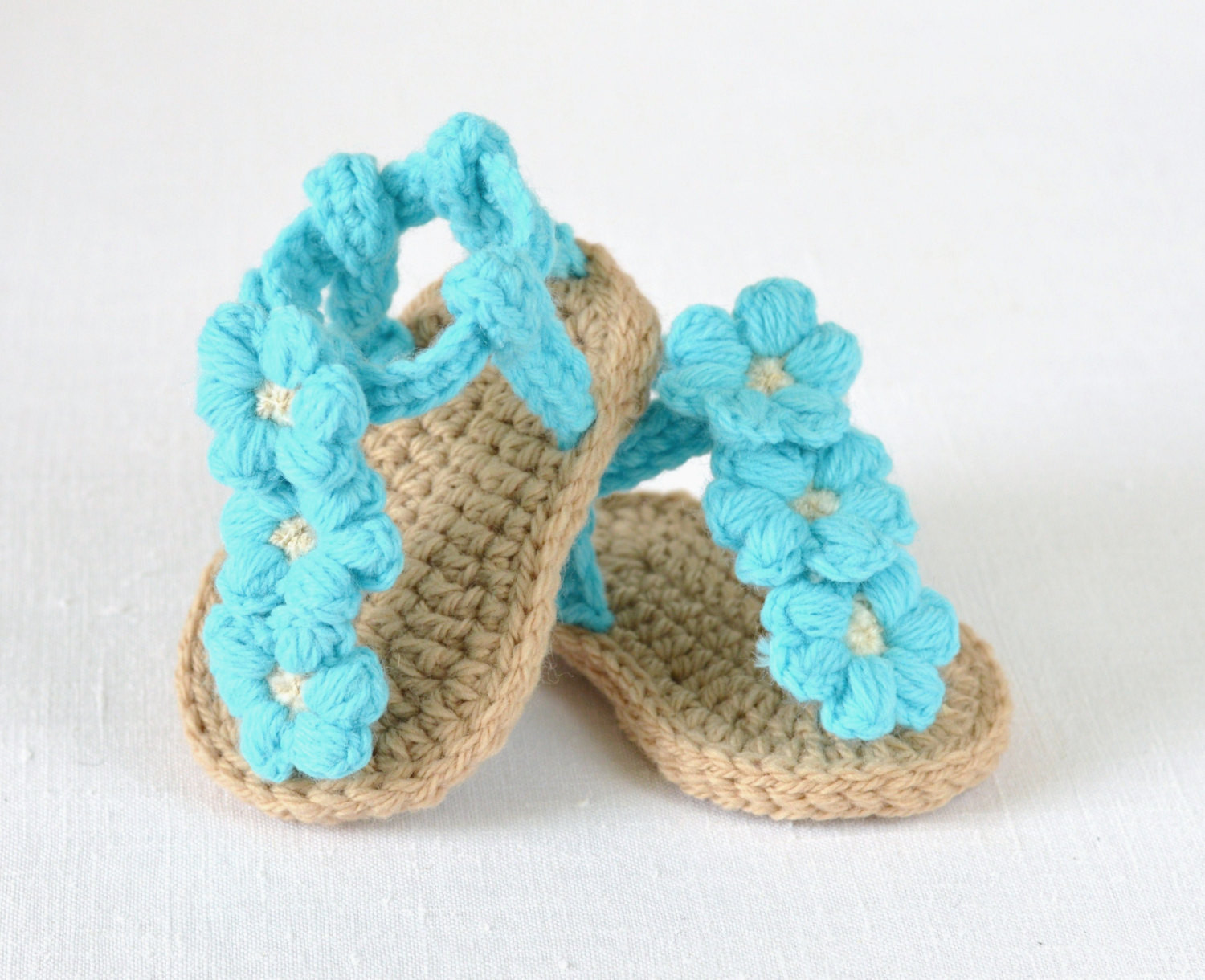 Crochet Baby Sandals Pattern New Crochet Pattern Baby Sandals with Little Puff by Of Perfect 43 Photos Crochet Baby Sandals Pattern