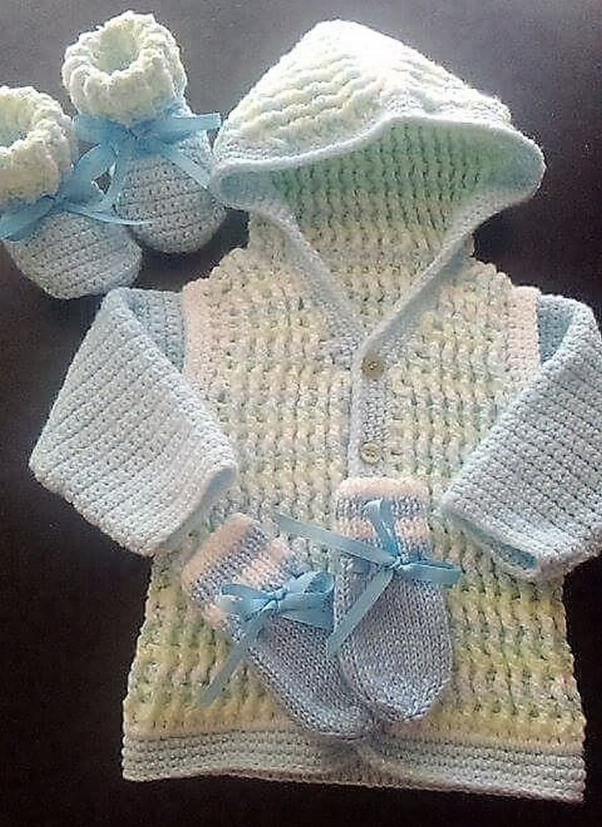 Crochet Baby Set Beautiful 40 Eye Catching Crochet Baby Dresses & Sets Of Charming 49 Pics Crochet Baby Set