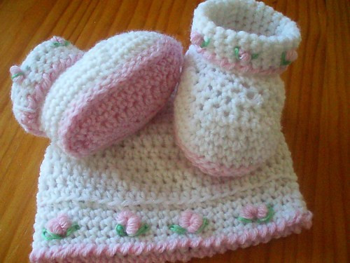 Crochet Baby Set Beautiful Crocheted Baby Booties and Hat Set Pattern Of Charming 49 Pics Crochet Baby Set