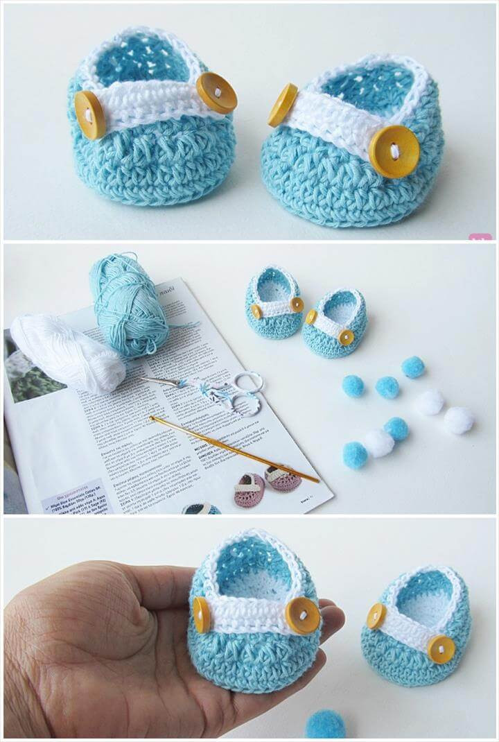 Crochet Baby Shoes Fresh top 40 Free Crochet Baby Booties Patterns Diy & Crafts Of Delightful 42 Models Crochet Baby Shoes