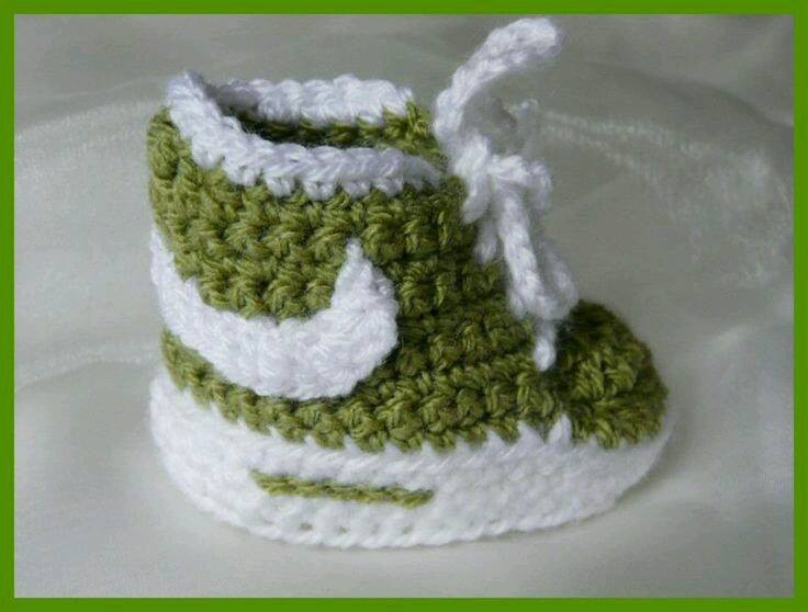 Crochet Baby Sneakers Beautiful Homemade Nike Baby Sneakers Free Patterns and Tutorial Of Superb 49 Images Crochet Baby Sneakers