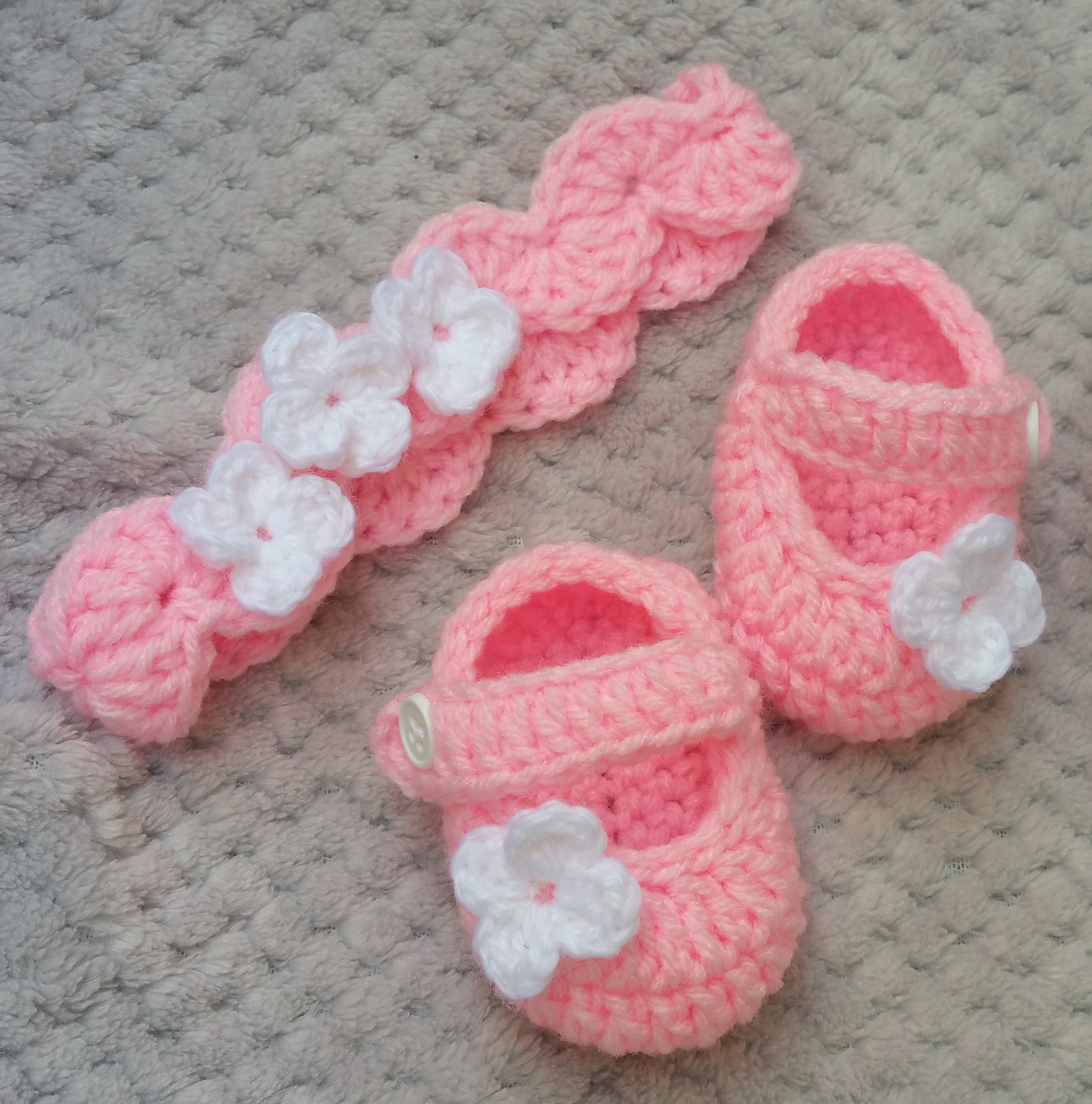 Crochet Baby Sneakers Fresh Promenade Pink Baby Girl Shoes Baby Headband Set Pink Of Superb 49 Images Crochet Baby Sneakers