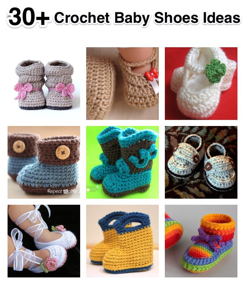 Crochet Baby Sneakers Inspirational 30 Crochet Baby Shoes Ideas and Patterns Page 3 Of 5 Of Superb 49 Images Crochet Baby Sneakers