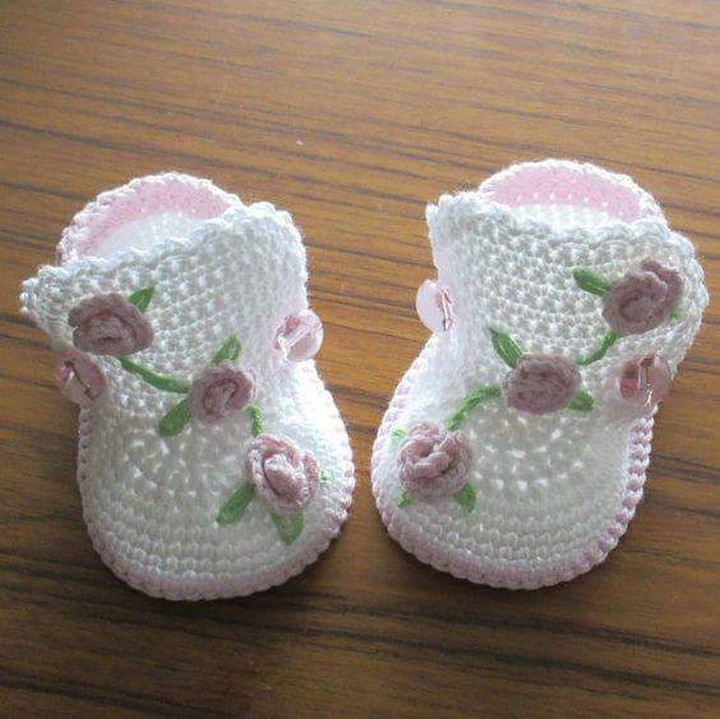 Crochet Baby Sneakers Inspirational 50 Crochet Baby Shoes Patterns Of Superb 49 Images Crochet Baby Sneakers