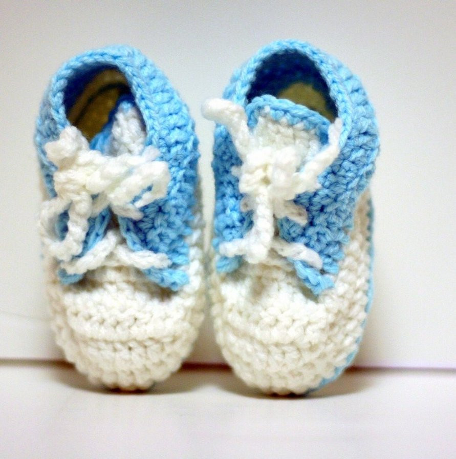 Crochet Baby Sneakers Lovely Crochet Baby Shoes Sneaker by Knitnutbyjl On Deviantart Of Superb 49 Images Crochet Baby Sneakers