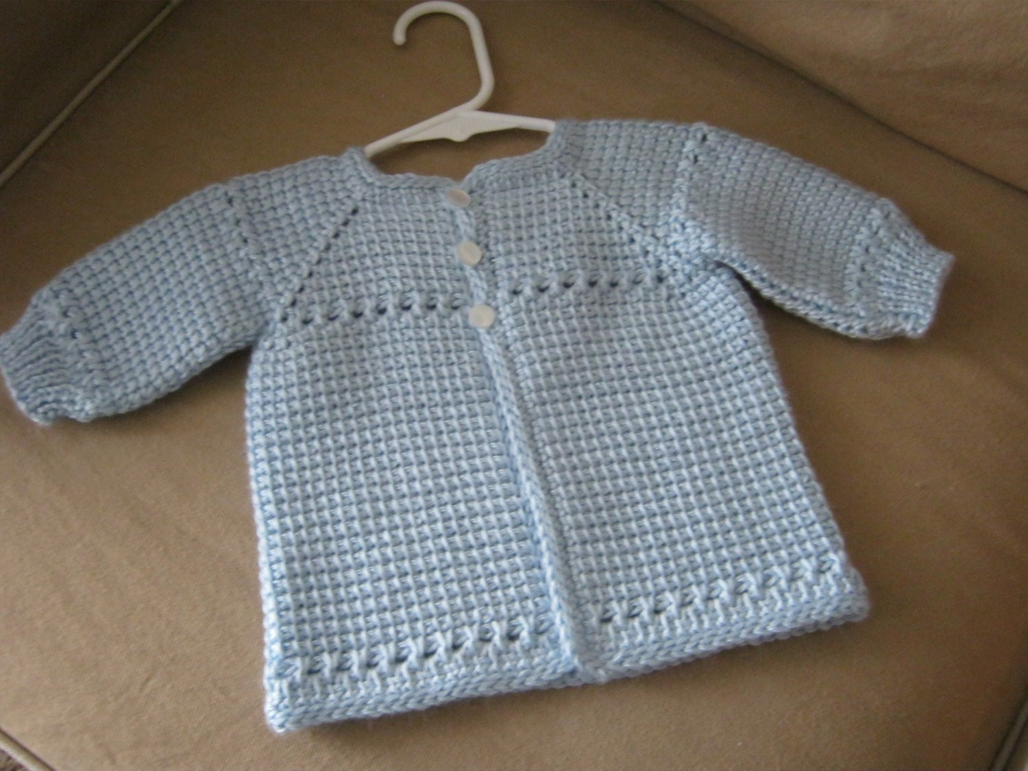 Crochet Baby Sweater Beautiful Crochet Baby Boy Sweater Blue Made to order Tunisian Of Charming 44 Images Crochet Baby Sweater