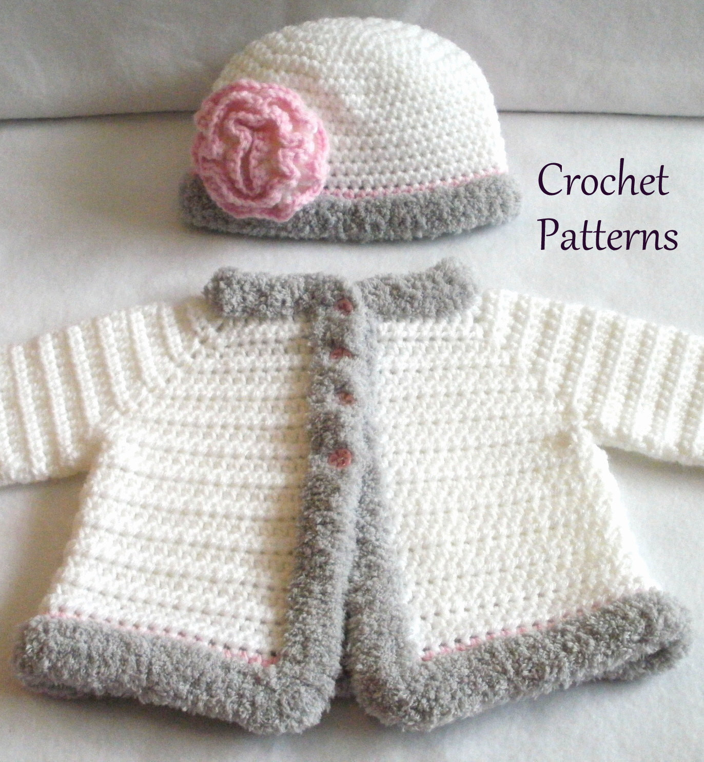 Crochet Baby Sweater Inspirational Crochet Pattern Baby Sweater & Hat Patterns the Laura Baby Of Charming 44 Images Crochet Baby Sweater