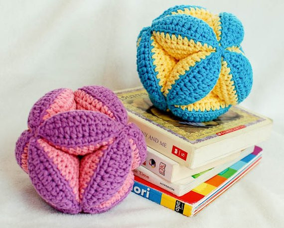 Crochet Baby toys Beautiful Crochet Pattern Baby Clutch Ball toy Makes A Great Baby Of Great 46 Photos Crochet Baby toys