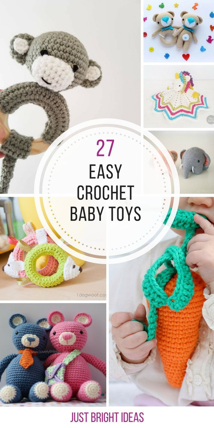 Crochet Baby toys Best Of Best 25 Crochet Baby toys Ideas On Pinterest Of Great 46 Photos Crochet Baby toys