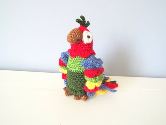 Crochet Baby toys Elegant Handmade Crochet Parrot Doll toy Amigurumi Gift Ideas Home Of Great 46 Photos Crochet Baby toys