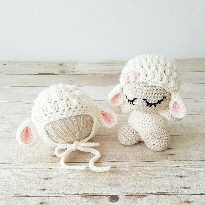 Crochet Baby toys Fresh Crochet Baby Lamb Hat Beanie Stuffed Animal Doll toy Sheep Of Great 46 Photos Crochet Baby toys