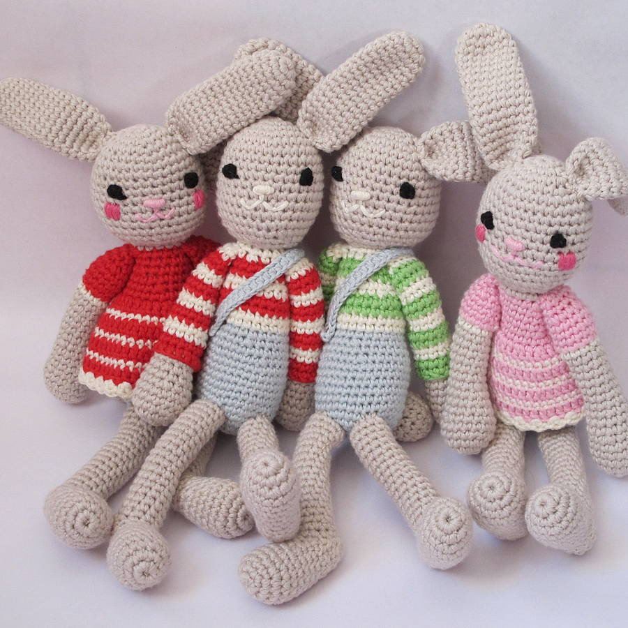 Crochet Baby toys Fresh Hand Crochet Bunny Rabbit by attic Of Great 46 Photos Crochet Baby toys