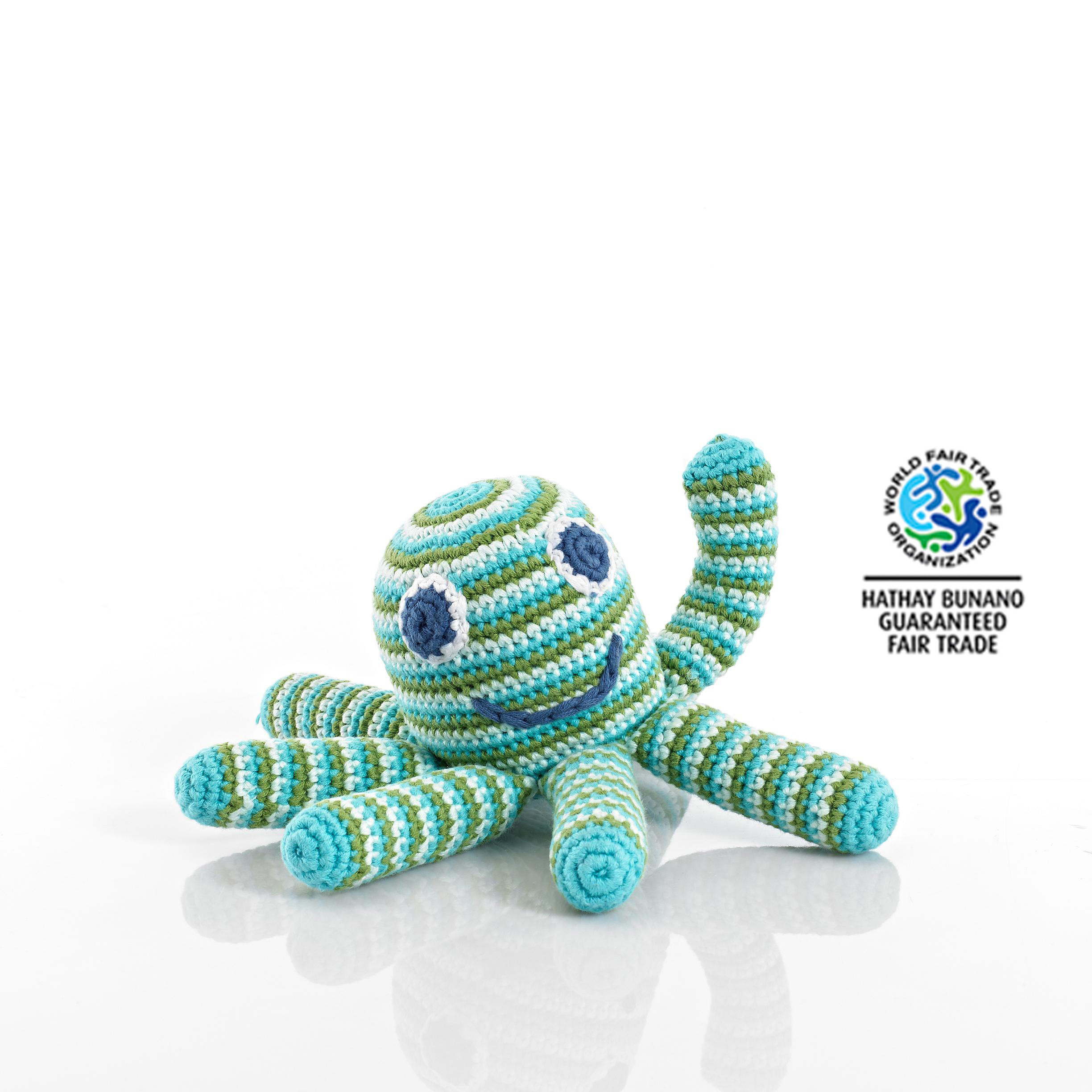 Crochet Baby toys Inspirational Baby toys Fair Trade Crochet Cotton Octopus Baby Rattle Of Great 46 Photos Crochet Baby toys