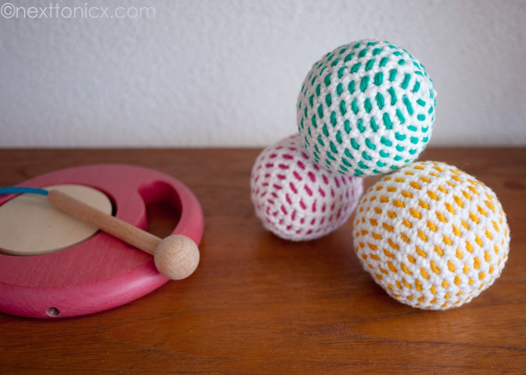 Crochet Baby Toy – Noise Makers