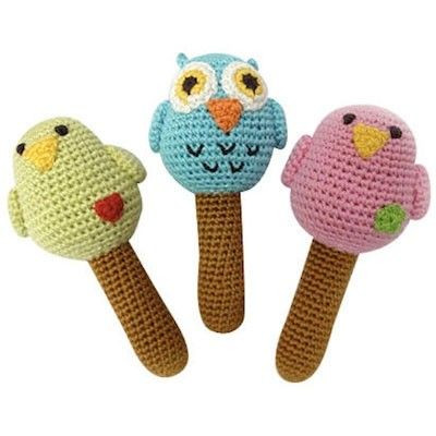 13 best images about Crochet Baby Rattles on Pinterest