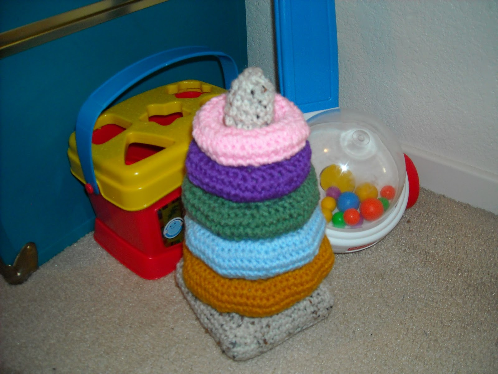 Crochet Baby toys Luxury A Crafty Cook Crochet Baby Ring Stacking toy – Part 1 Of Great 46 Photos Crochet Baby toys