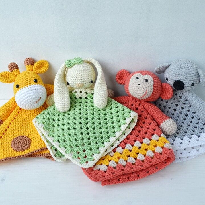 Crochet Baby toys Luxury Lovely Bunny Lovey Pattern Security Blanket Of Great 46 Photos Crochet Baby toys