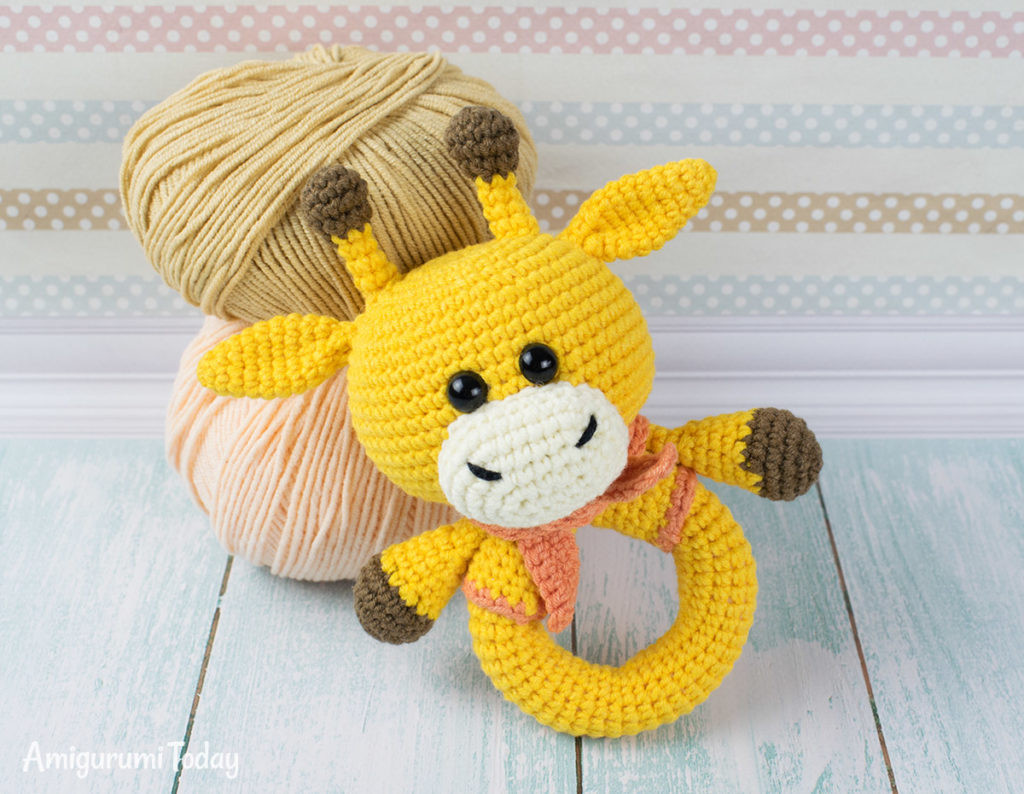 Crochet Baby toys New Free Crochet Giraffe Rattle Pattern Knit and Crochet Daily Of Great 46 Photos Crochet Baby toys