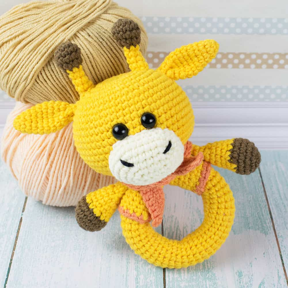Crochet Baby toys Unique Giraffe Baby Rattle Crochet Pattern Amigurumi today Of Great 46 Photos Crochet Baby toys