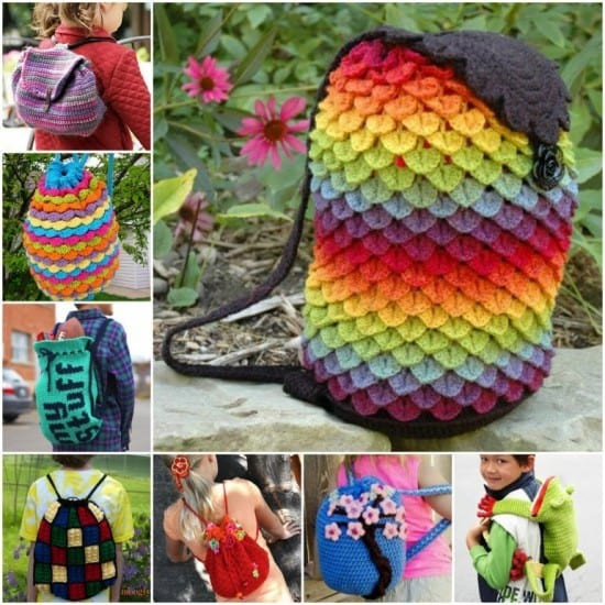Crochet Backpack Awesome Crochet Backpack Bag Pattern All the Very Best Ideas Of Amazing 48 Pics Crochet Backpack