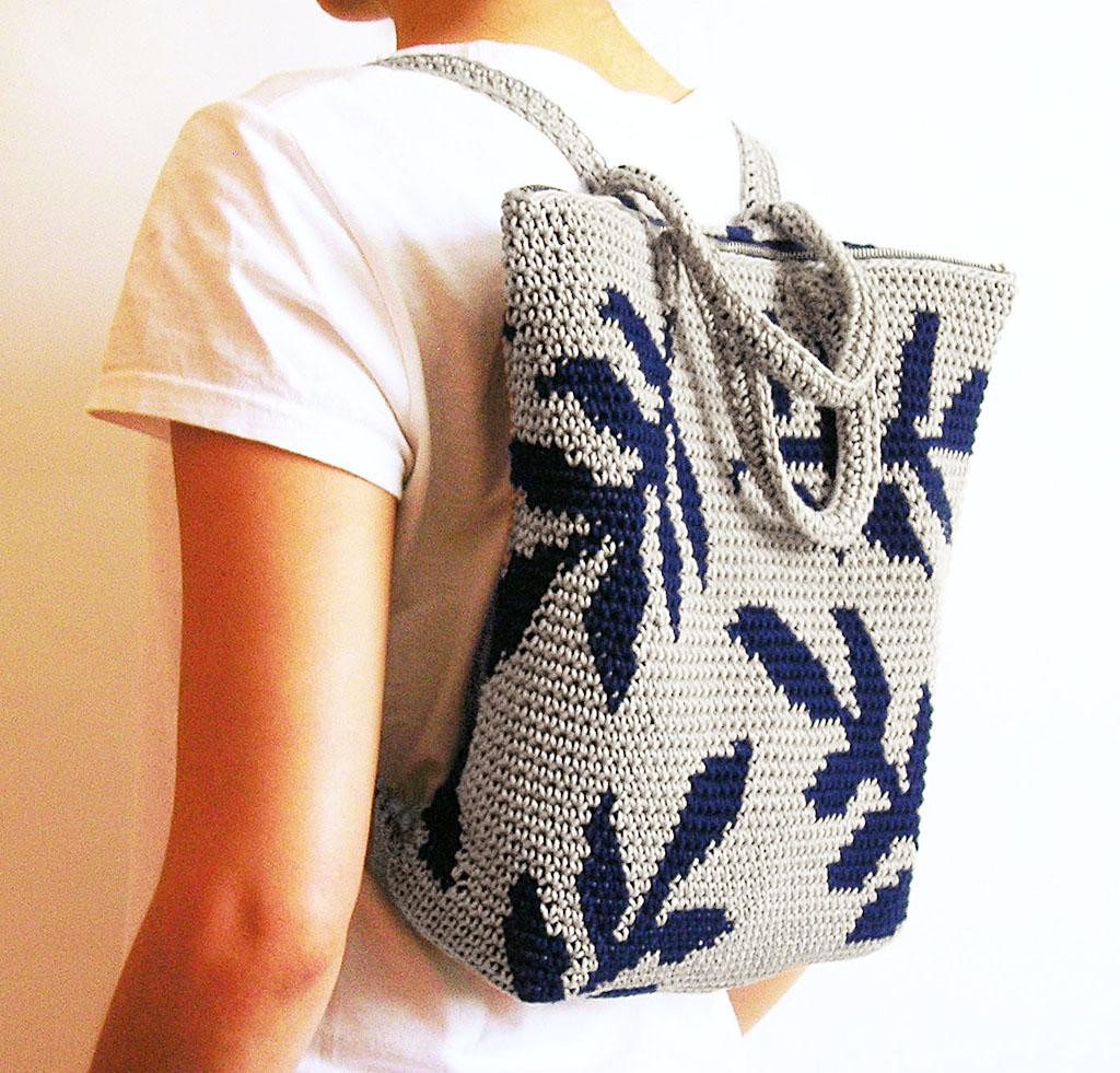 Crochet Backpack Beautiful How to Make A Crochet Backpack Tips & Patterns Of Amazing 48 Pics Crochet Backpack