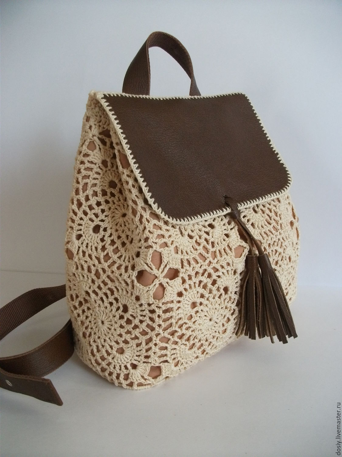 Crochet Backpack Best Of Crochet Backpack Romantic – Shop Online On Livemaster with Of Amazing 48 Pics Crochet Backpack