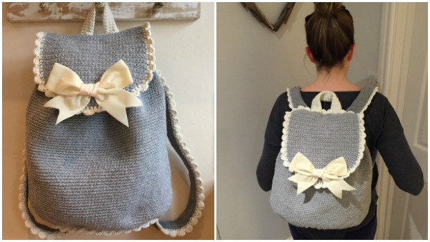Crochet Backpack Inspirational Crochet Club the Out & About Backpack • Lovecrochet Blog Of Amazing 48 Pics Crochet Backpack