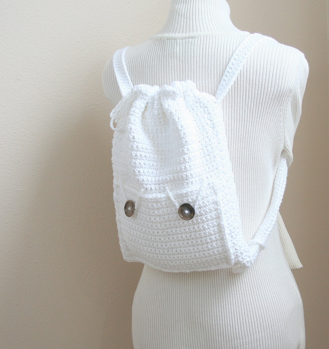 Crochet Backpack Purse Pattern Small Backpack