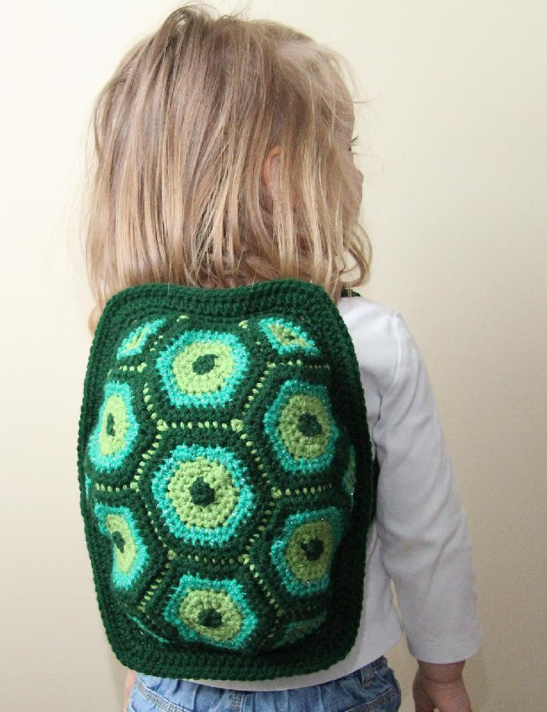 Crochet Backpack Pattern Awesome Little Turtle Backpack Crochet Pattern by Little Squirrel Of Perfect 44 Pictures Crochet Backpack Pattern