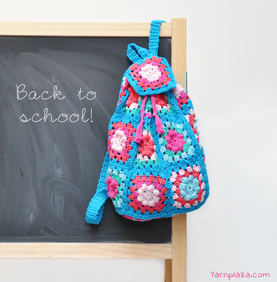Crochet Backpack Pattern Beautiful Crocheted Backpack Free Pattern Yarnplaza Of Perfect 44 Pictures Crochet Backpack Pattern