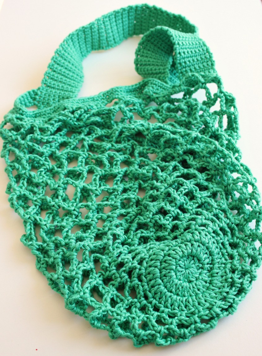 Crochet Bag Pattern Awesome A E Skein Crochet Mesh Bag Free Pattern – Zeens and Roger Of Great 50 Pictures Crochet Bag Pattern