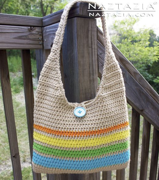 DIY Free Pattern and Tutorial Easy Beginner Crochet Tote