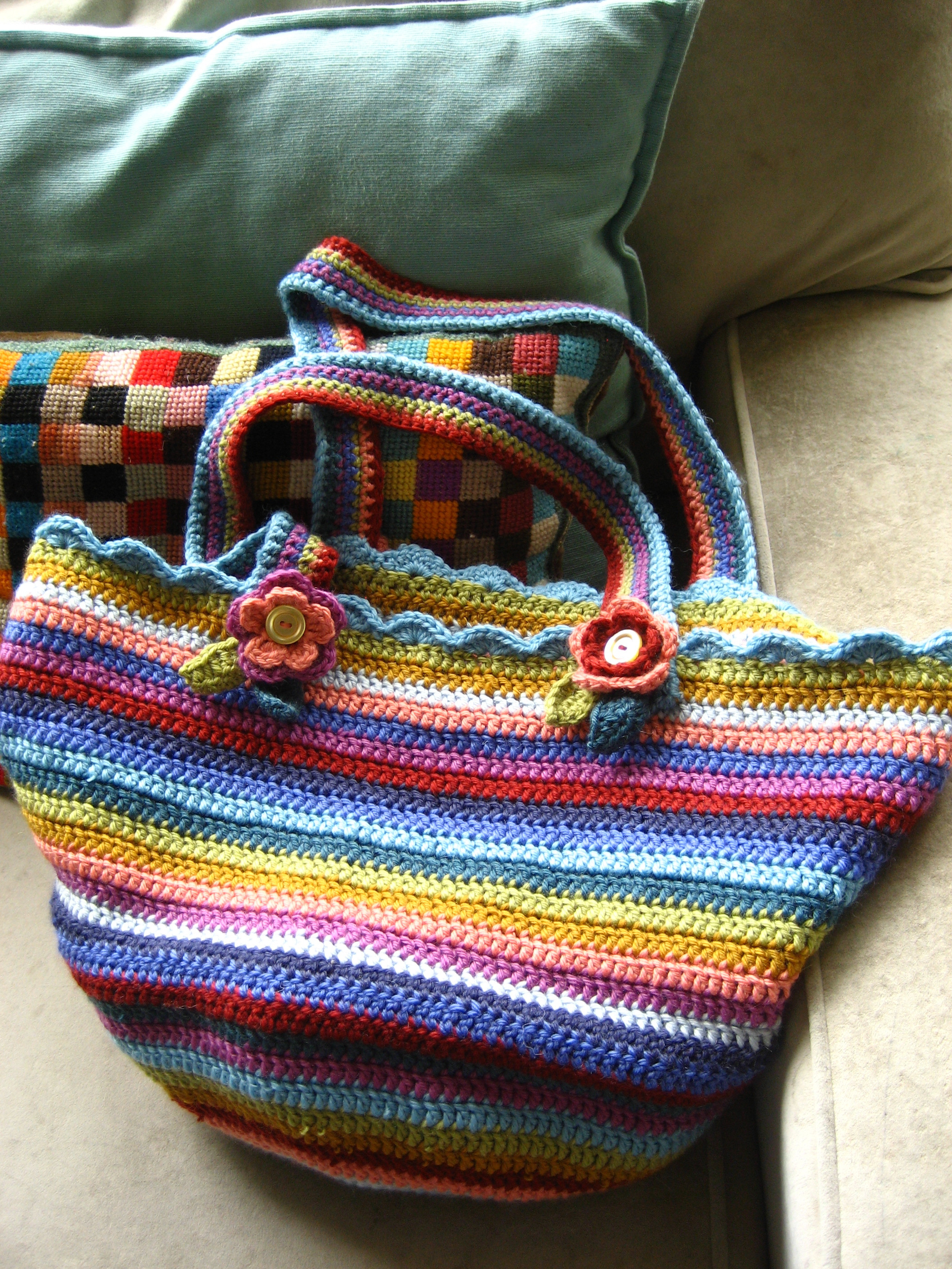 How To Crochet A Handbag Pattern Style Guru Fashion