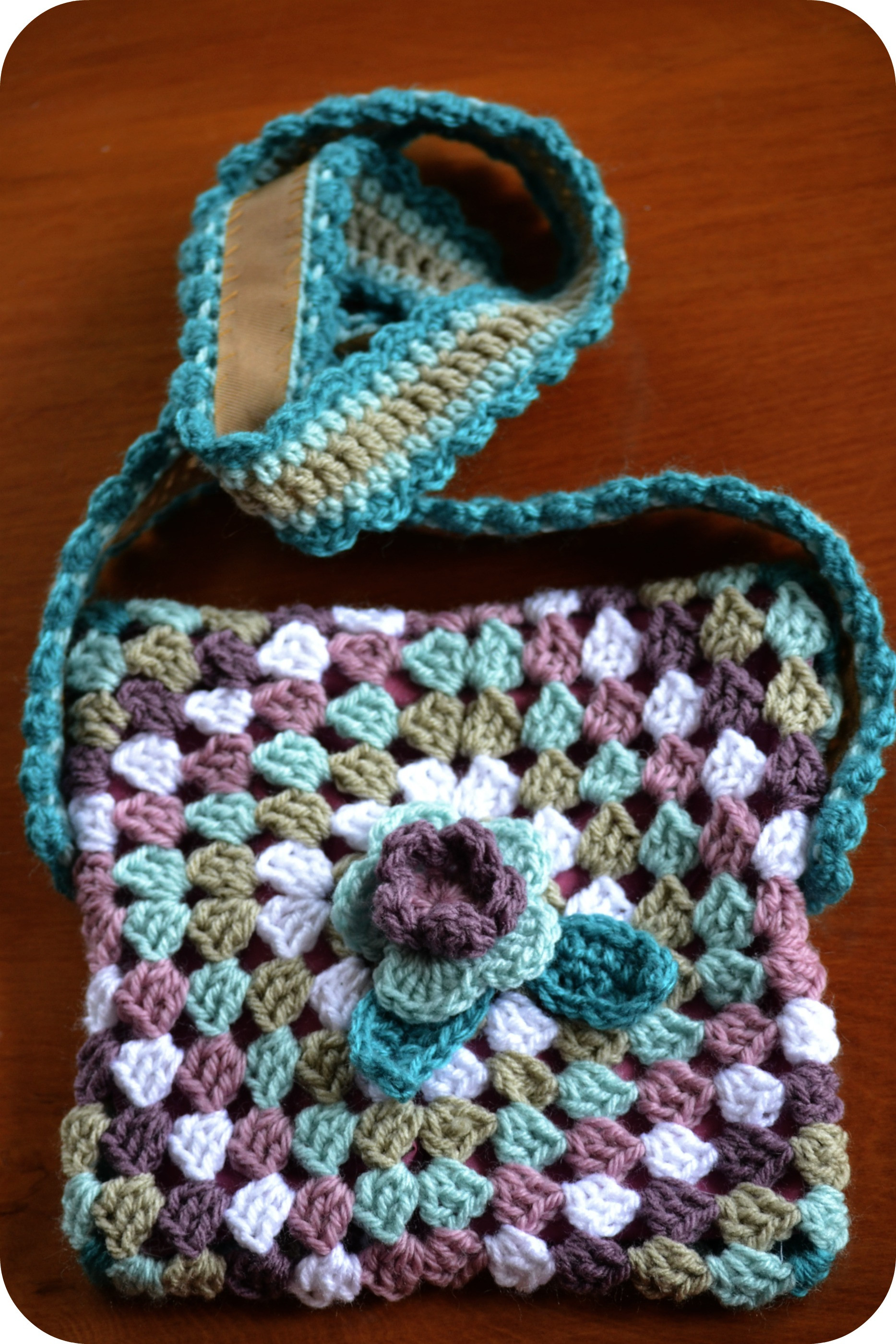 Crochet Bag Pattern Fresh A New Tutorial… Crochet Granny Bag – the Green Dragonfly Of Great 50 Pictures Crochet Bag Pattern