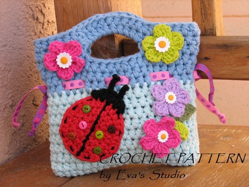Crochet Bag Pattern Pdf Beautiful Girls Bag Purse with Ladybug and Flowers Crochet Of Luxury 50 Images Crochet Bag Pattern Pdf