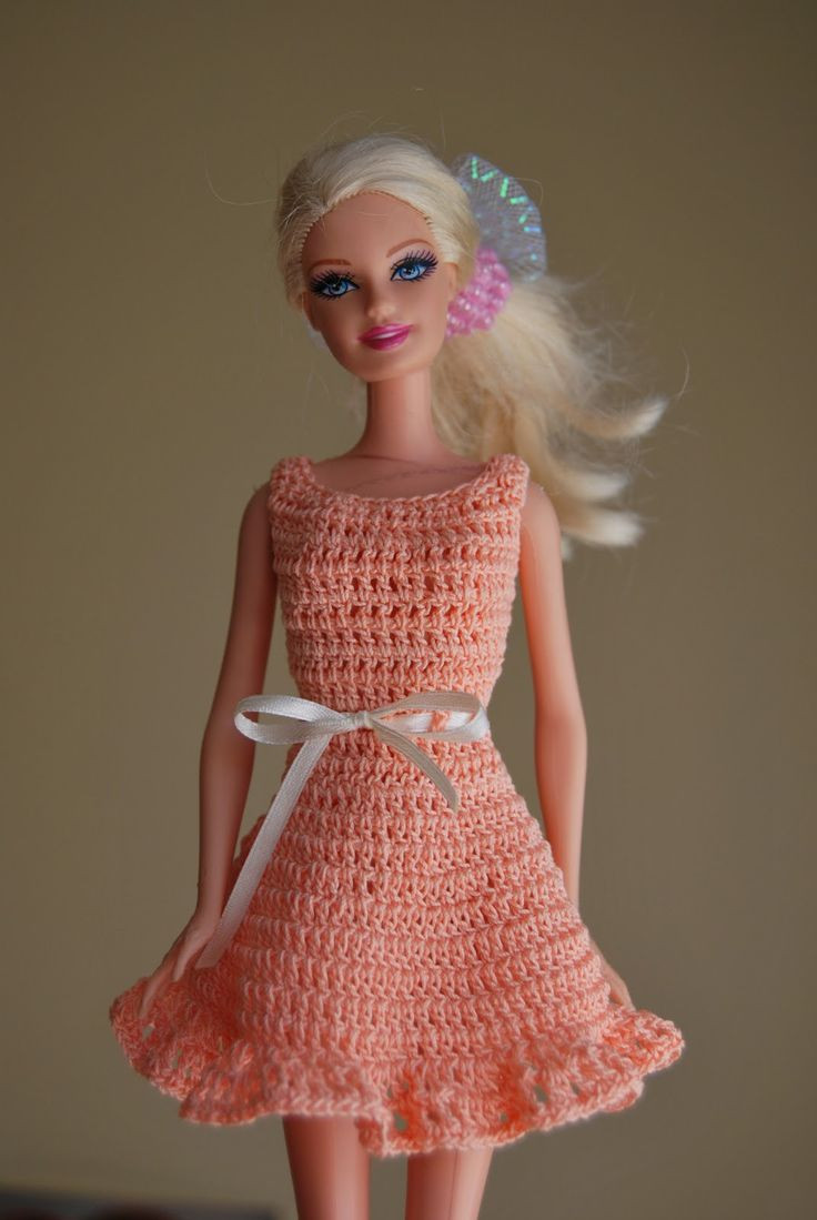 Crochet Barbie Dress Best Of 3392 Best Crochet Barbie Doll Clothes & Misc Images On Of Amazing 46 Pictures Crochet Barbie Dress