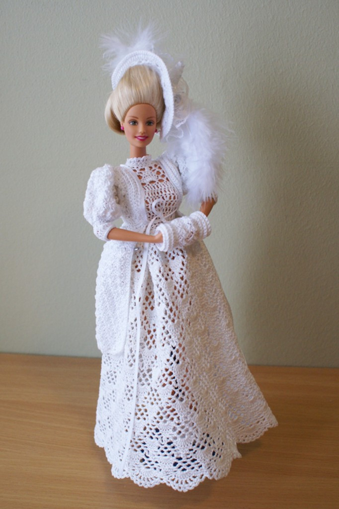 Crochet Barbie Dress Best Of Pin Nallar 2 On Pinterest Of Amazing 46 Pictures Crochet Barbie Dress