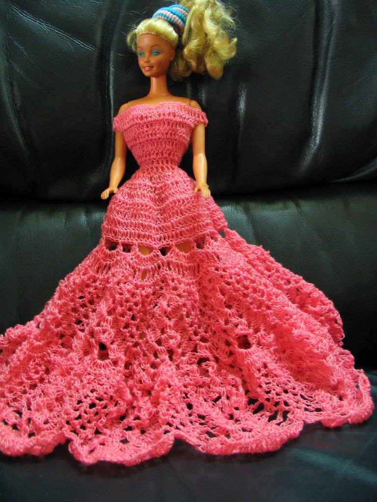 Crochet Barbie Dress Best Of Pineapple Barbie Dress Of Amazing 46 Pictures Crochet Barbie Dress
