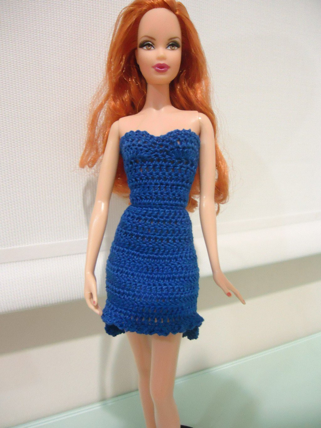 Crochet Barbie Dress Inspirational Barbie High Low Cocktail Dress Crochet Pattern Of Amazing 46 Pictures Crochet Barbie Dress