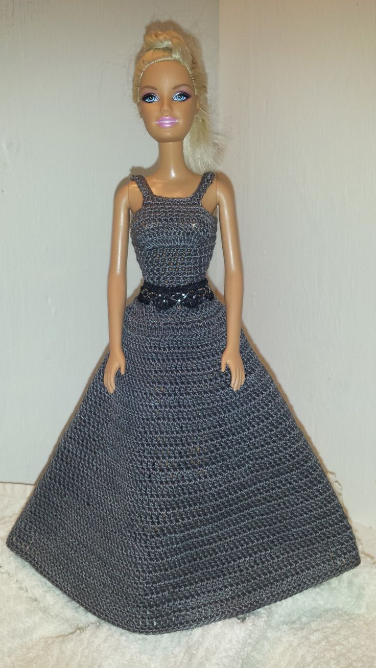 Crochet Barbie Dress Luxury 480 Best Crochet Gown for Barbie Images On Pinterest Of Amazing 46 Pictures Crochet Barbie Dress