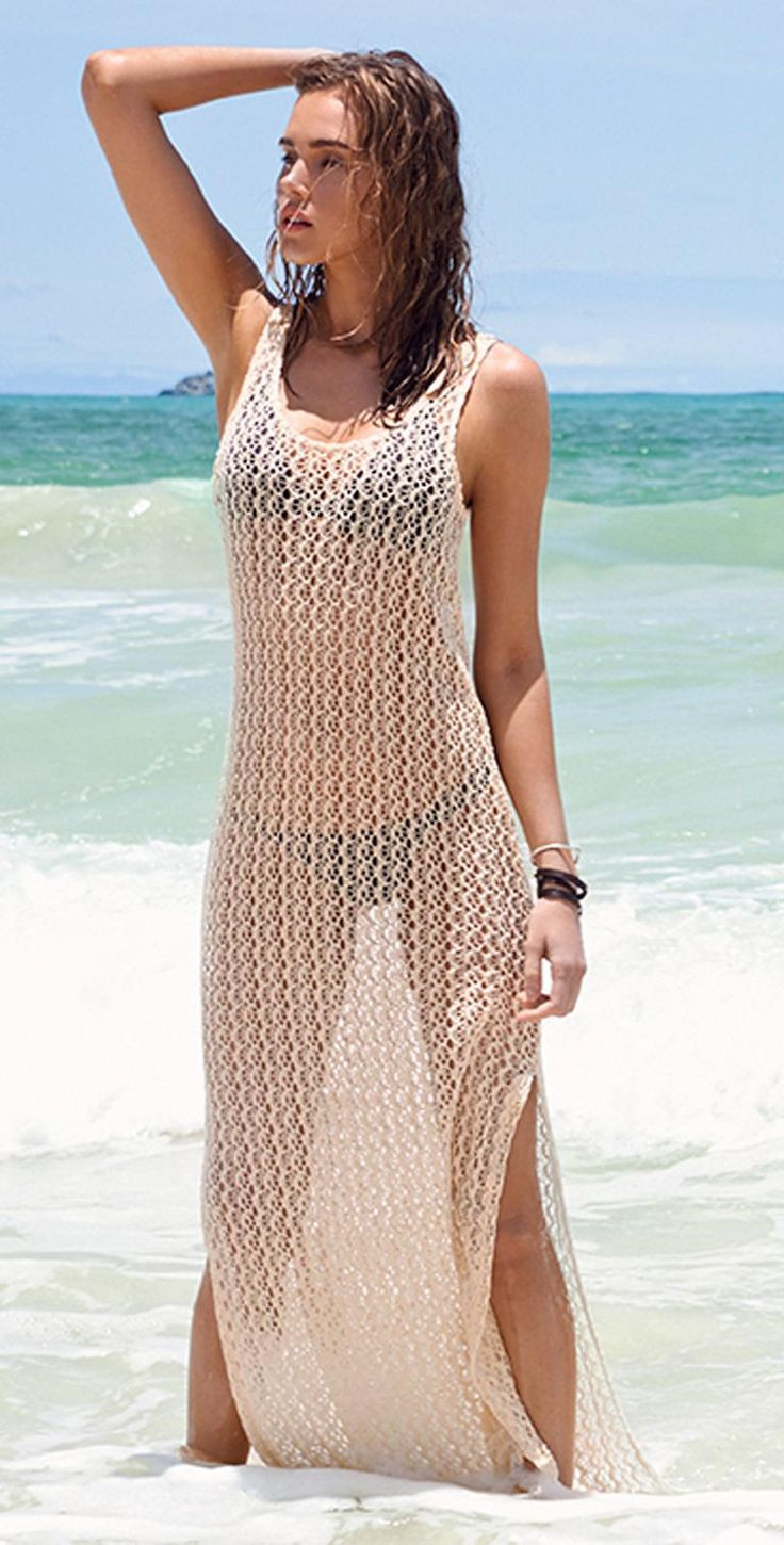 Crochet Bathing Suits Inspirational L Space 2015 Ramona Crochet Natural Cover Up Ramcv15 Nat Of Wonderful 49 Photos Crochet Bathing Suits