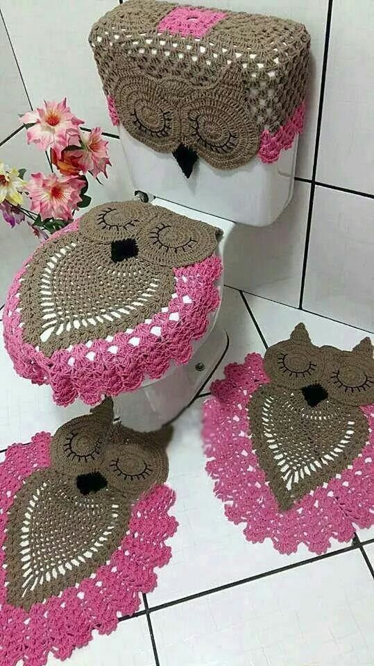 Crochet Bathroom Set Beautiful 104 Best Images About Crochet Bathroom On Pinterest Of Wonderful 40 Images Crochet Bathroom Set