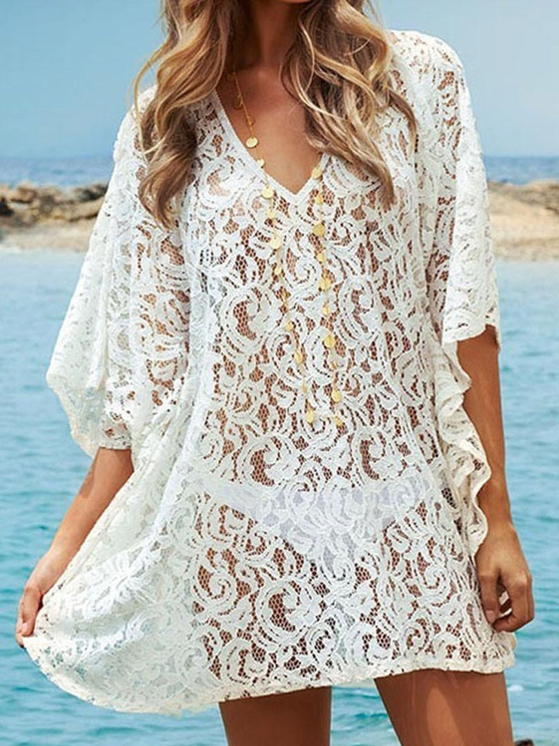Crochet Beach Cover Up Beautiful White Crochet Lace Beach Cover Up From Midnight Bandit Of Lovely 41 Ideas Crochet Beach Cover Up