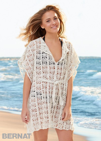 free crochet beach cover up patterns Archives ⋆ Crochet