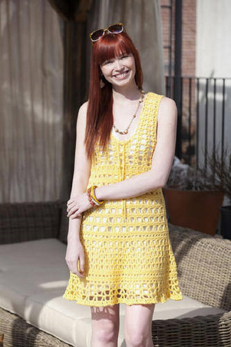 Crochet Beach Cover Up Dress Fresh top 10 Free Patterns for Crochet Summer Clothes top Inspired Of Brilliant 50 Models Crochet Beach Cover Up Dress