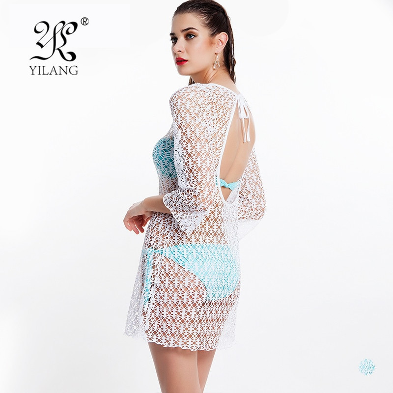 Crochet Beach Cover Up Dress Unique New Arrival Super Y See Through Women Beach Cover Up Of Brilliant 50 Models Crochet Beach Cover Up Dress
