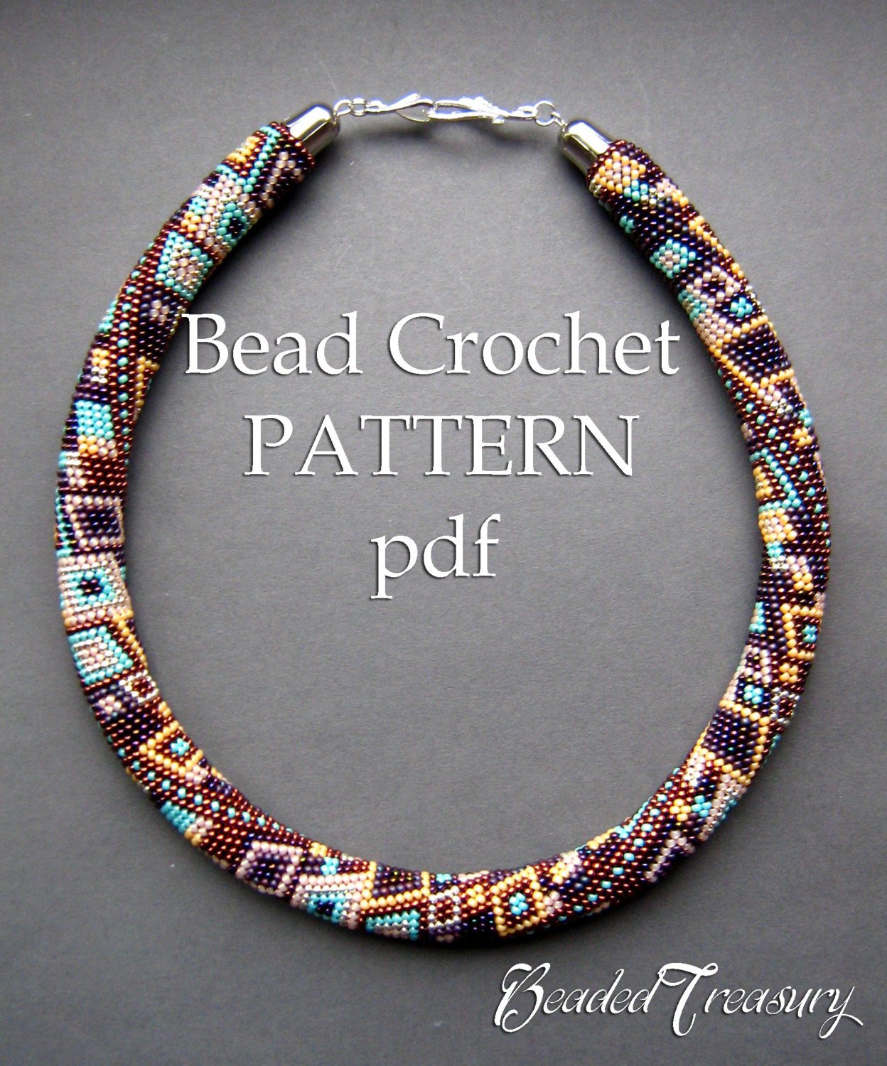 Crochet Beaded Necklace Best Of Pattern for Bead Crochet Necklace Skyscraper Of Contemporary 43 Images Crochet Beaded Necklace