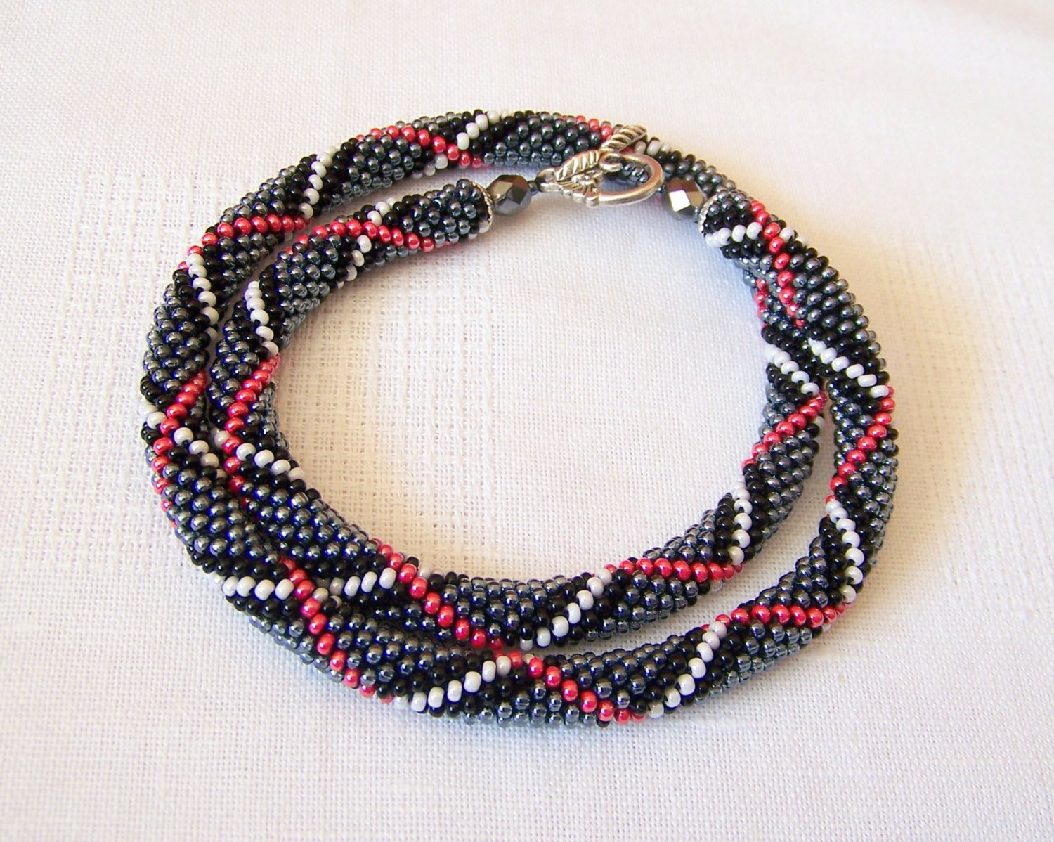 Crochet Beaded Necklace Lovely Beads Crochet Ropes Necklace Beadwork Seed Beads Jewelry Of Contemporary 43 Images Crochet Beaded Necklace